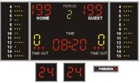 Scoreboard complete for Basketball + kit 24