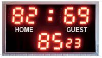 Score, Chronometer Foot rugby